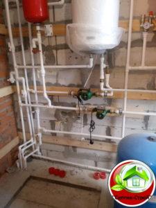 Водоснабжение частного дома в Циплино